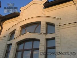 Фасады из ракушечника