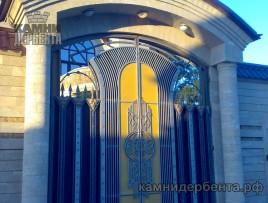 Обрамление ворот